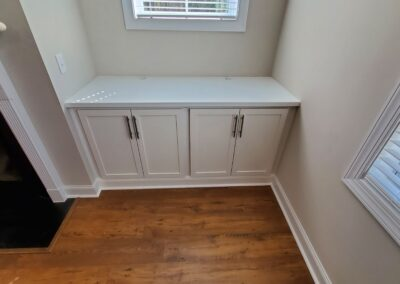 Kitchen Cabinets Raleigh Fireplace Built Ins White Shaker