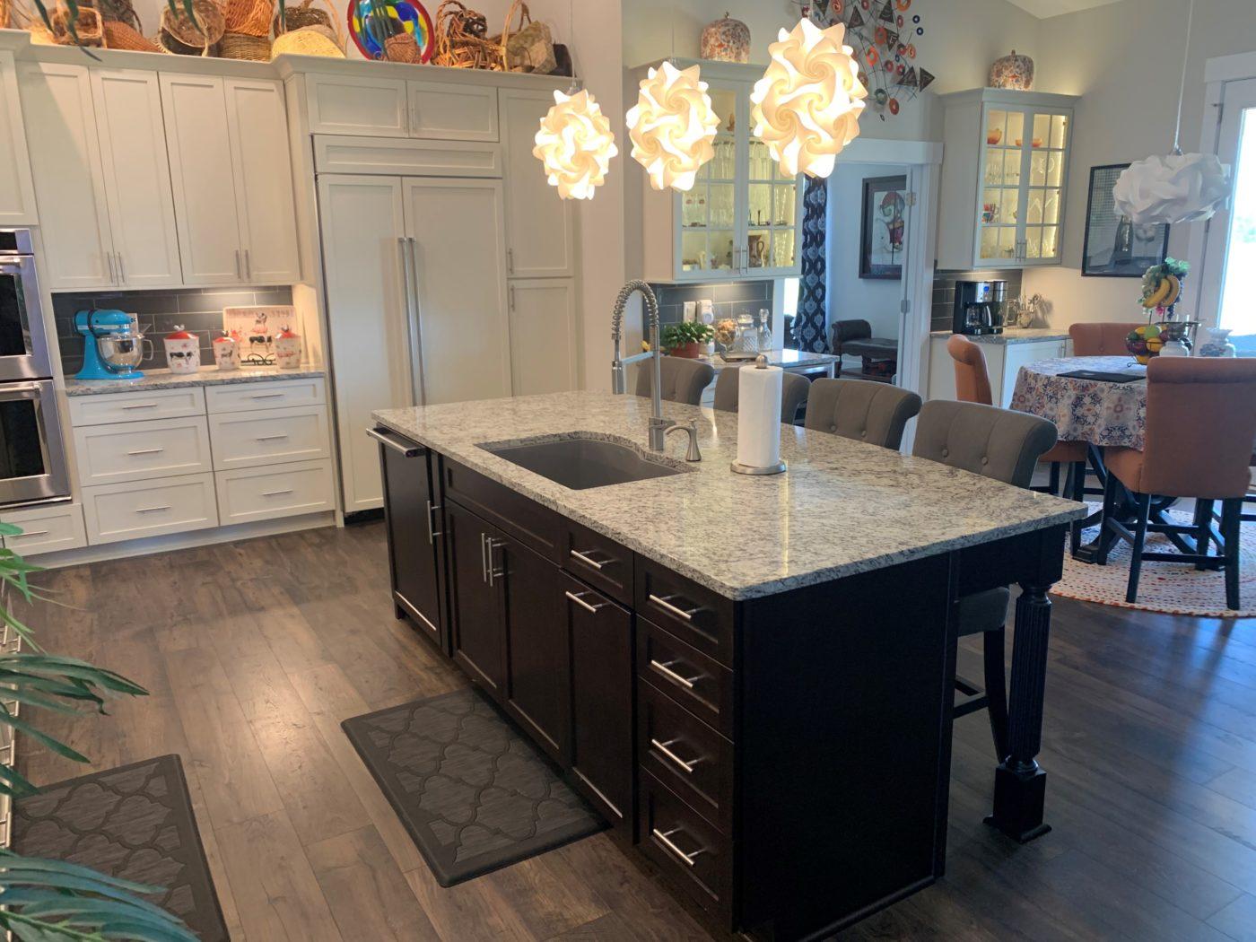 Kitchen Cabinets Raleigh Granite Radius Edge