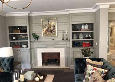 Kitchen Cabinets Raleigh Jameson Fine Cabinetry Custom Fireplace Built Ins