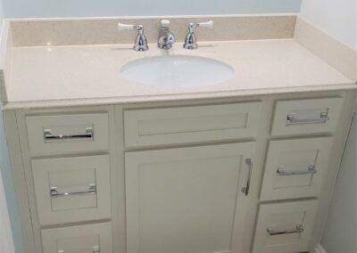 Kitchen Cabinets Raleigh Jameson Fine Cabinetry Vanity Cabinet Atlanta Salt Polished Chrome Pulls Hidden Pullout