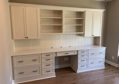 Kitchen Cabinets Raleigh Custom Built In Desk Traditional Shaker Linen Crown