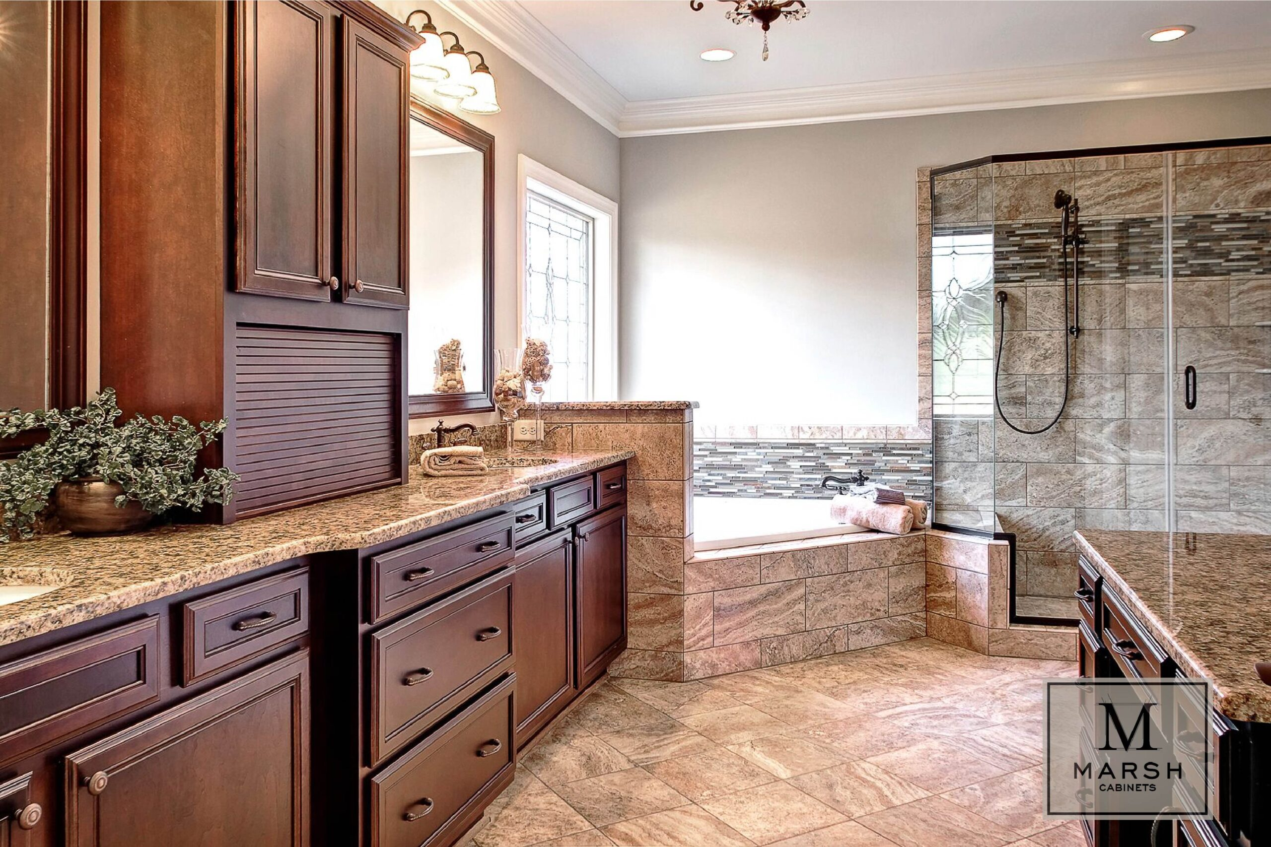 Kitchen Cabinets Raleigh Traditional Brunswick Cafe Stain Appliance Garage Tambour Tower Vanity