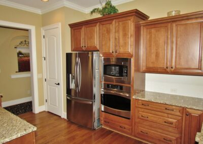 Kitchen Cabinets Raleigh Traditional Wilmington Tuscany Double Oven Cooktop Crown
