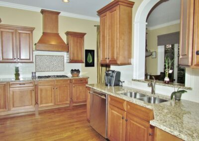 Kitchen Cabinets Raleigh Traditional Wilmington Tuscany Double Oven Crown Cooktop