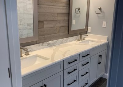 Kitchen Cabinets Raleigh Vanity Rustic Savannah Salt Glaze Marble His And Hers Hardware