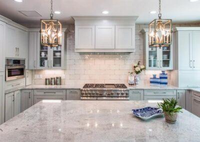 Kitchen Cabinets Raleigh Transitional Summerfield1 Greystone Custom Granite