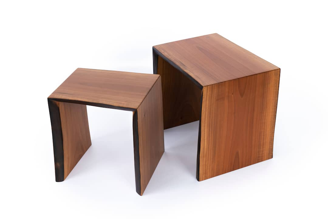 Raleigh Kitchen Cabinets Live Edge End Tables