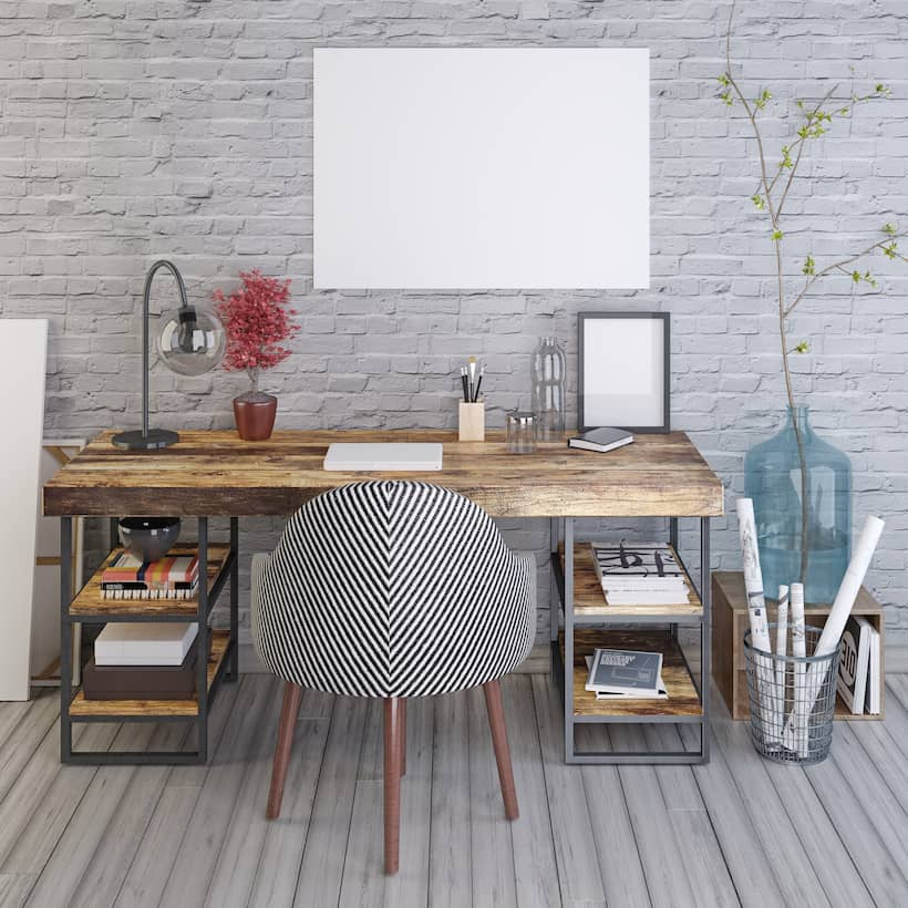 Raleigh Kitchen Cabinets Live Edge Desk With Basket Drawers