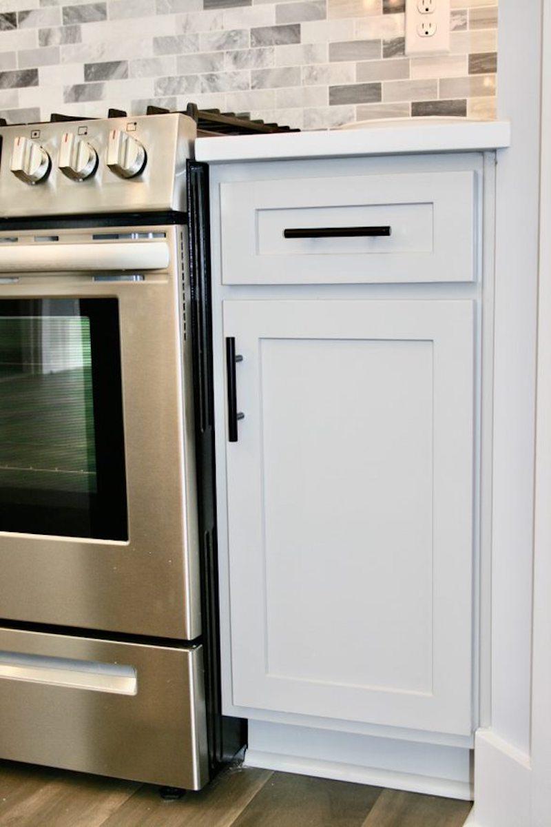 Kitchen Cabinets Raleigh Atlanta 1 Alpine Matte Black Hardware 3