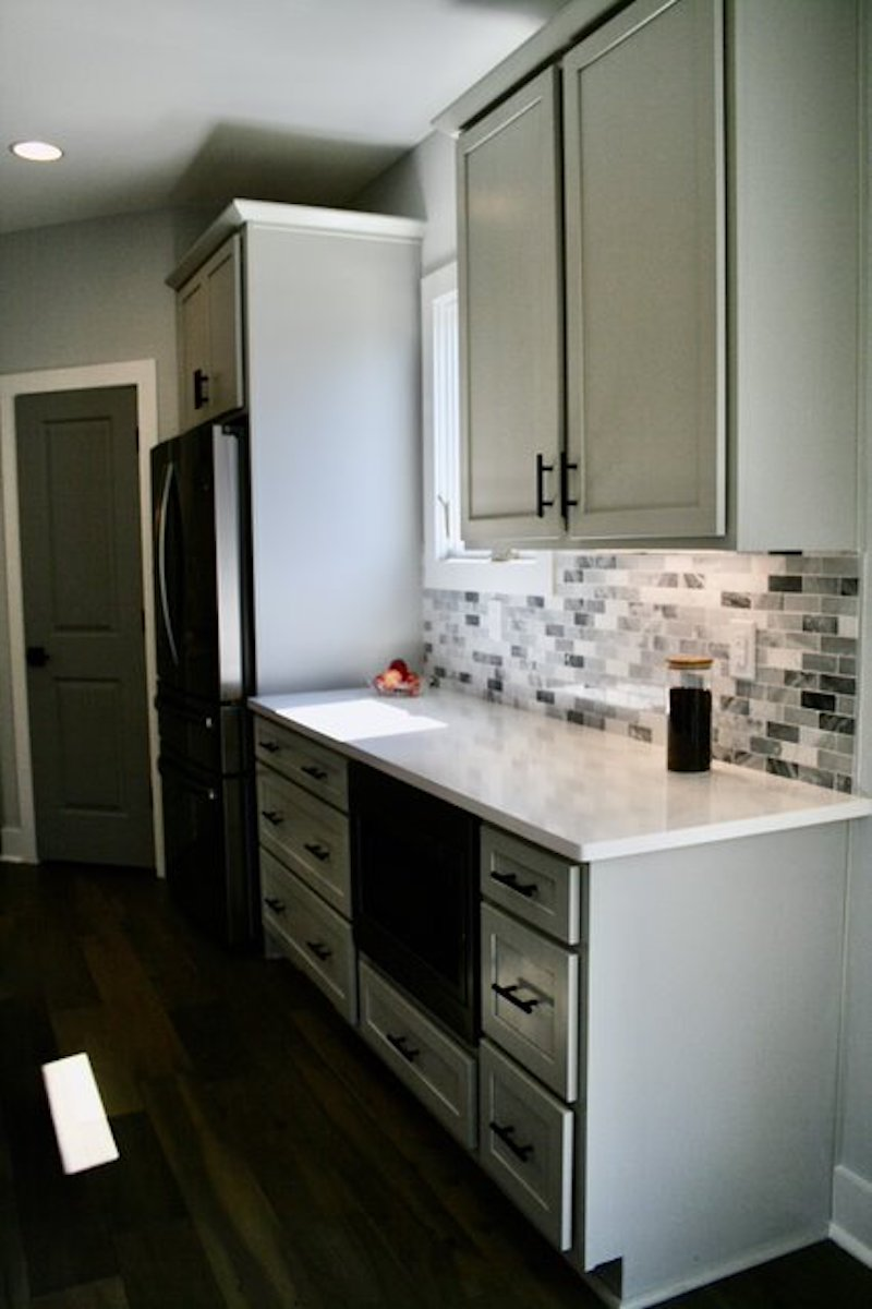 Kitchen Cabinets Raleigh Atlanta 1 Greystone Quartz Countertops