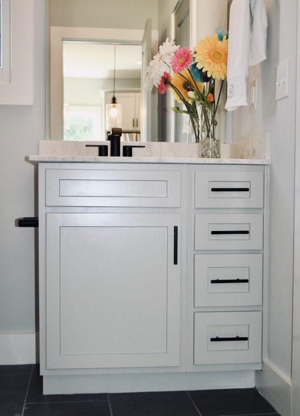 Kitchen Cabinets Raleigh Atlanta 1 Greystone Vanity Guest Bath