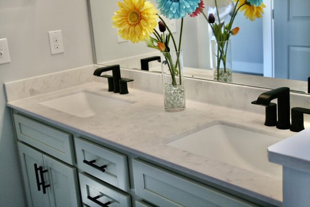 Kitchen Cabinets Raleigh Atlanta 1 Greystone Vanity His And Hers
