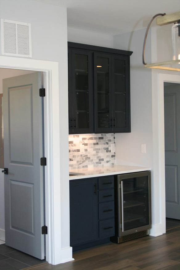 Kitchen Cabinets Raleigh Atlanta 1 Hatteras Blue Butlers Pantry