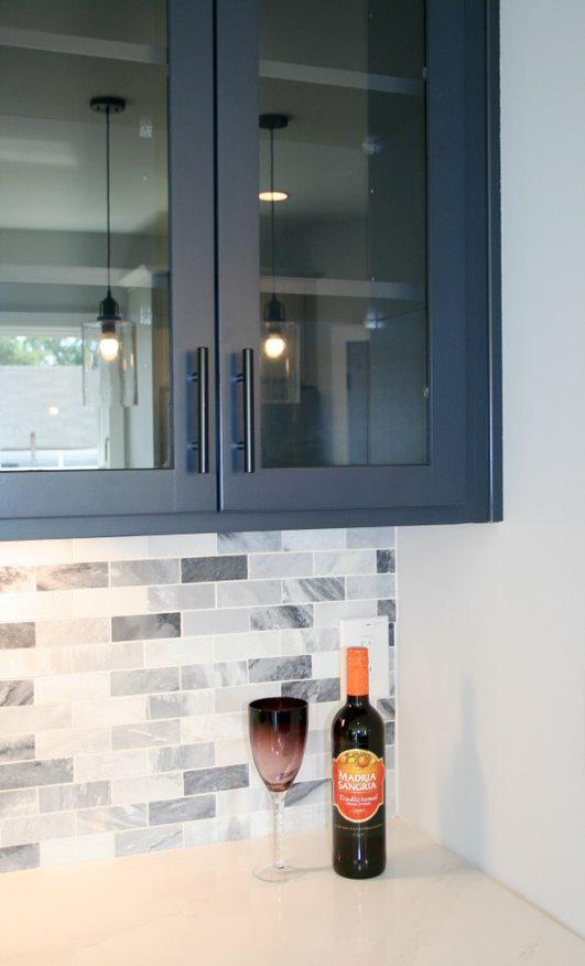 Kitchen Cabinets Raleigh Atlanta 1 Hatteras Blue Glass