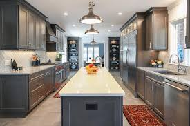 Kitchen Cabinets Raleigh Atlanta Storm Two Tone Kitchen