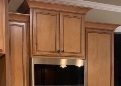 Kitchen Cabinets Raleigh Charleston Tuscany Chocolate Glaze 3
