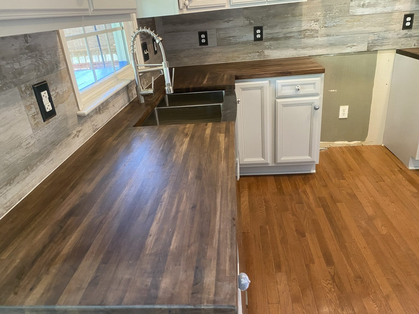 Kitchen Cabinets Raleigh Custom Buthcher Block Countertops