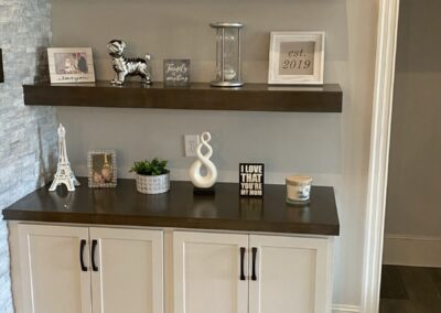 Kitchen Cabinets Raleigh Custom Floating Shelves