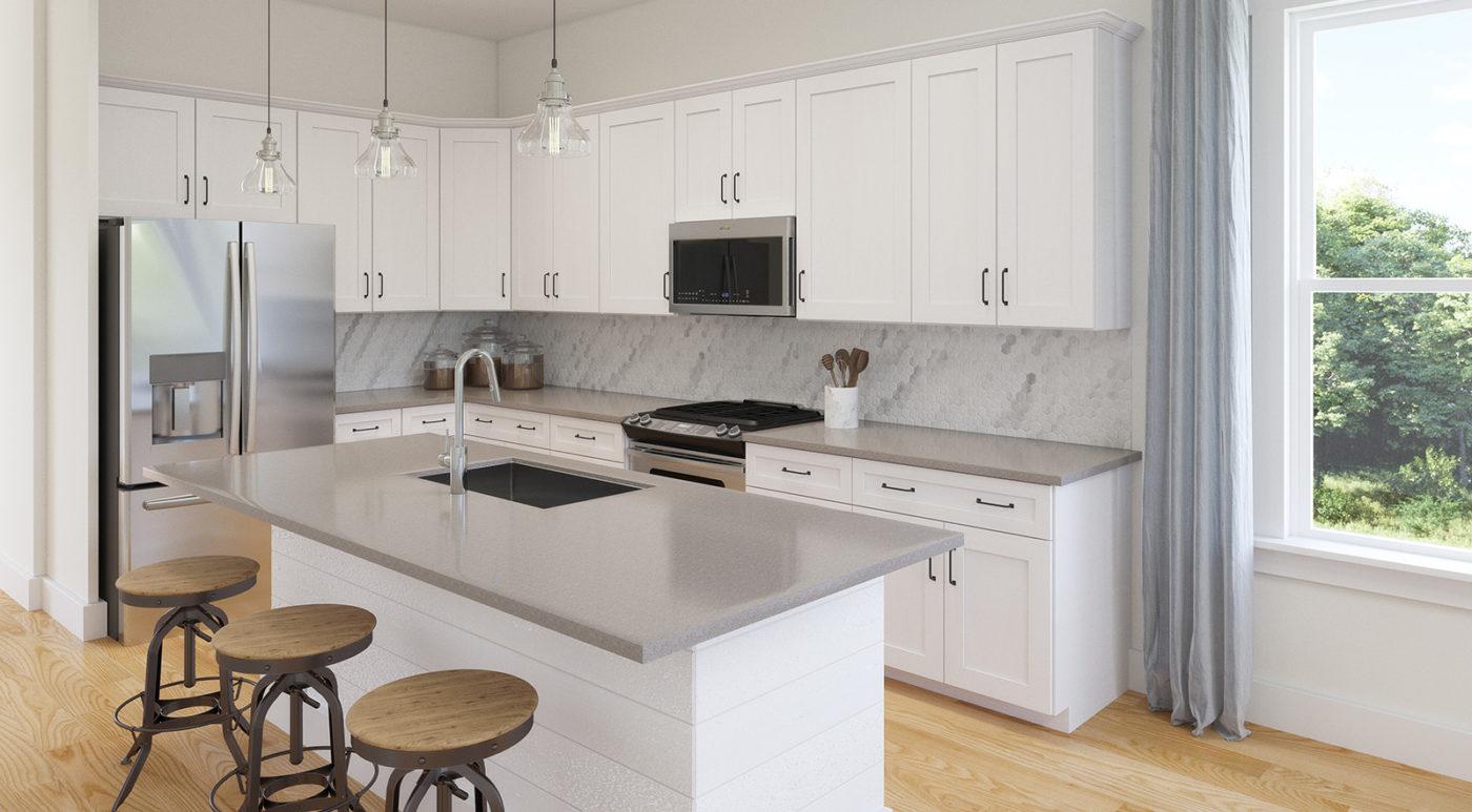 Kitchen Cabinets Raleigh Modern Contemporary,alpine Summerfield Quartz