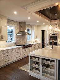 Kitchen Cabinets Raleigh Savannah Alpine Wine Rack Quartz