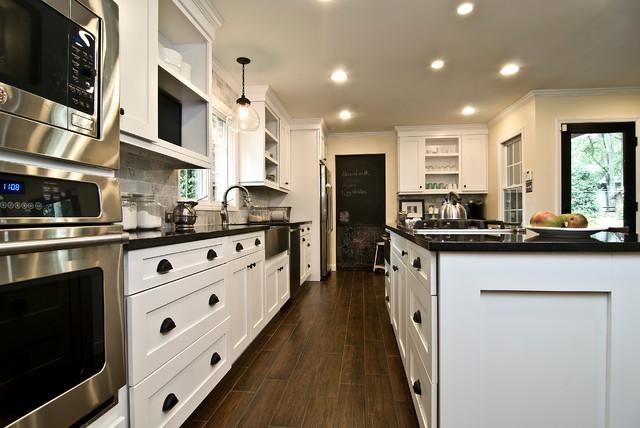 Kitchen Cabinets Raleigh Summerfield 1 Alpine Matte Black Hardware