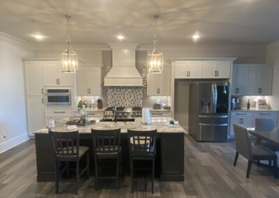 Kitchen Cabinets Raleigh Transitional Cloud Storm