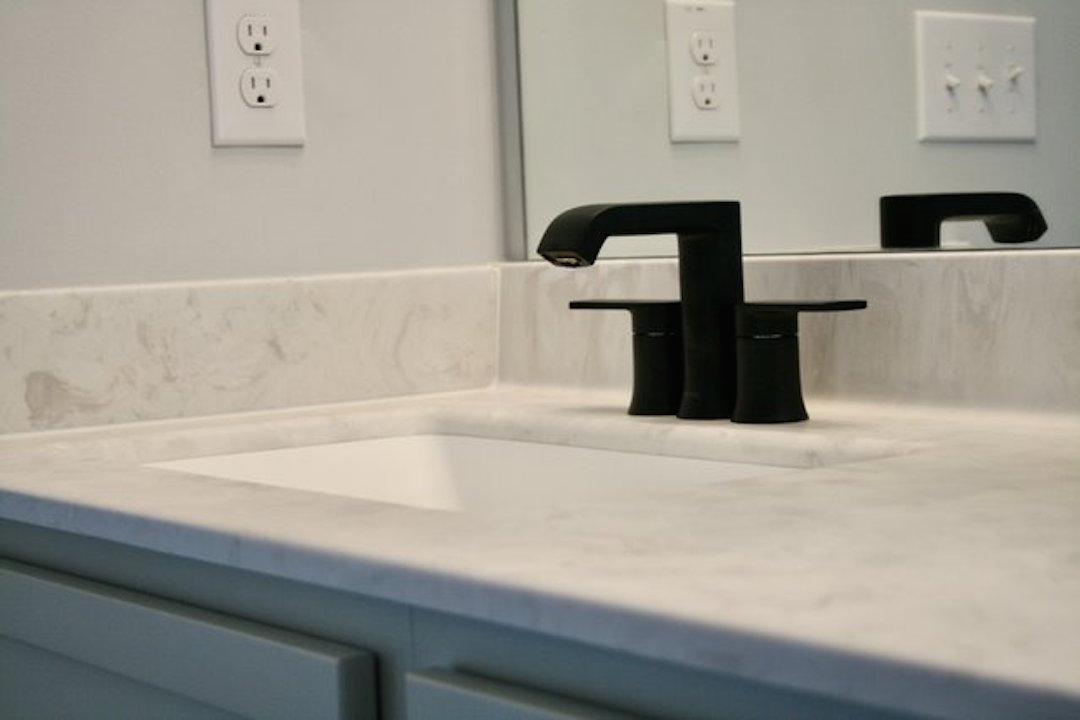 Kitchen Cabinets Raleigh Vanity Guest Bath